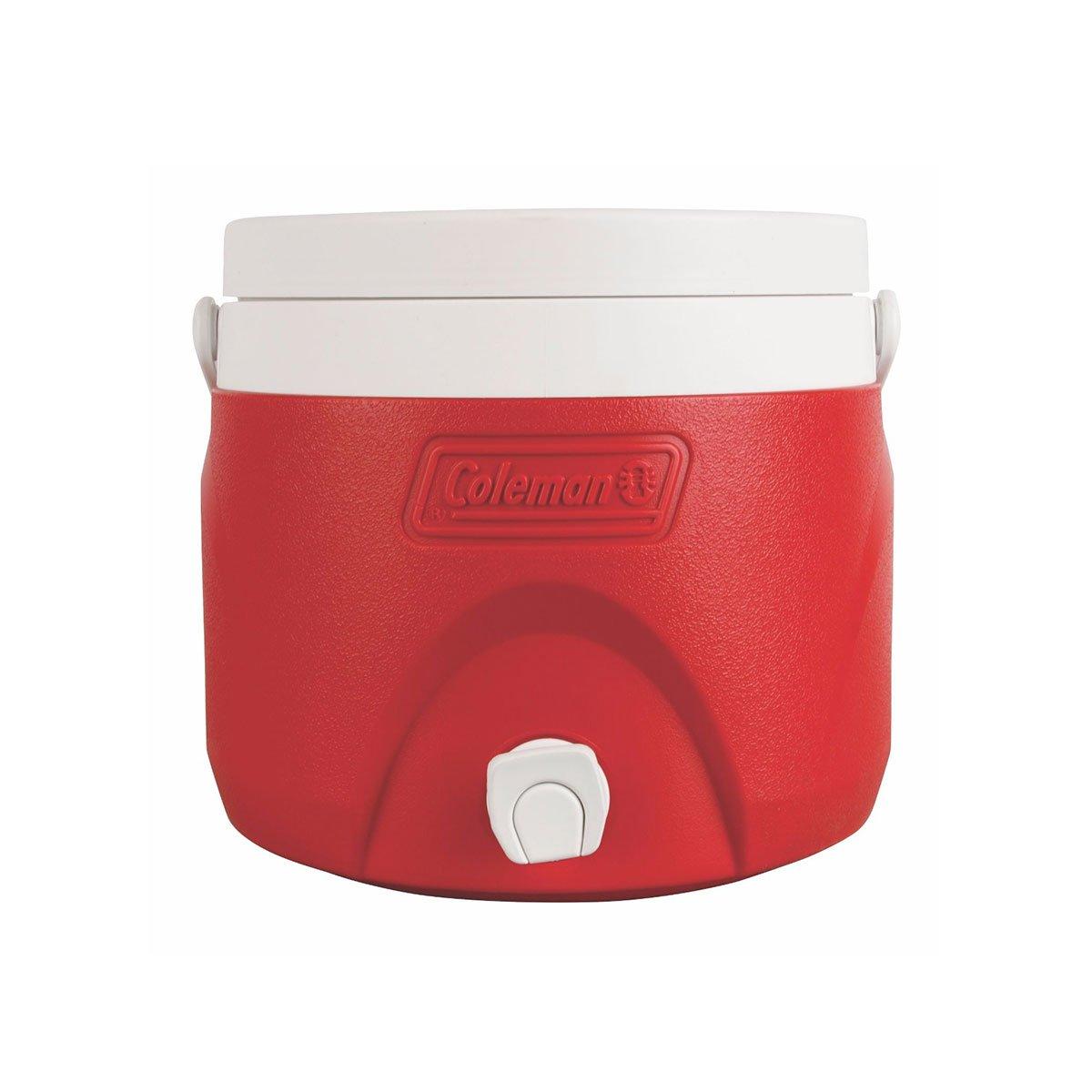 Jarra Térmica Coleman 7,5 Litros Vermelha com Alça de Mão