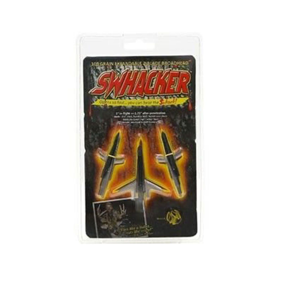 Kit 3 Ponteiras p/ flecha Swhacker Rosqueavel Metal