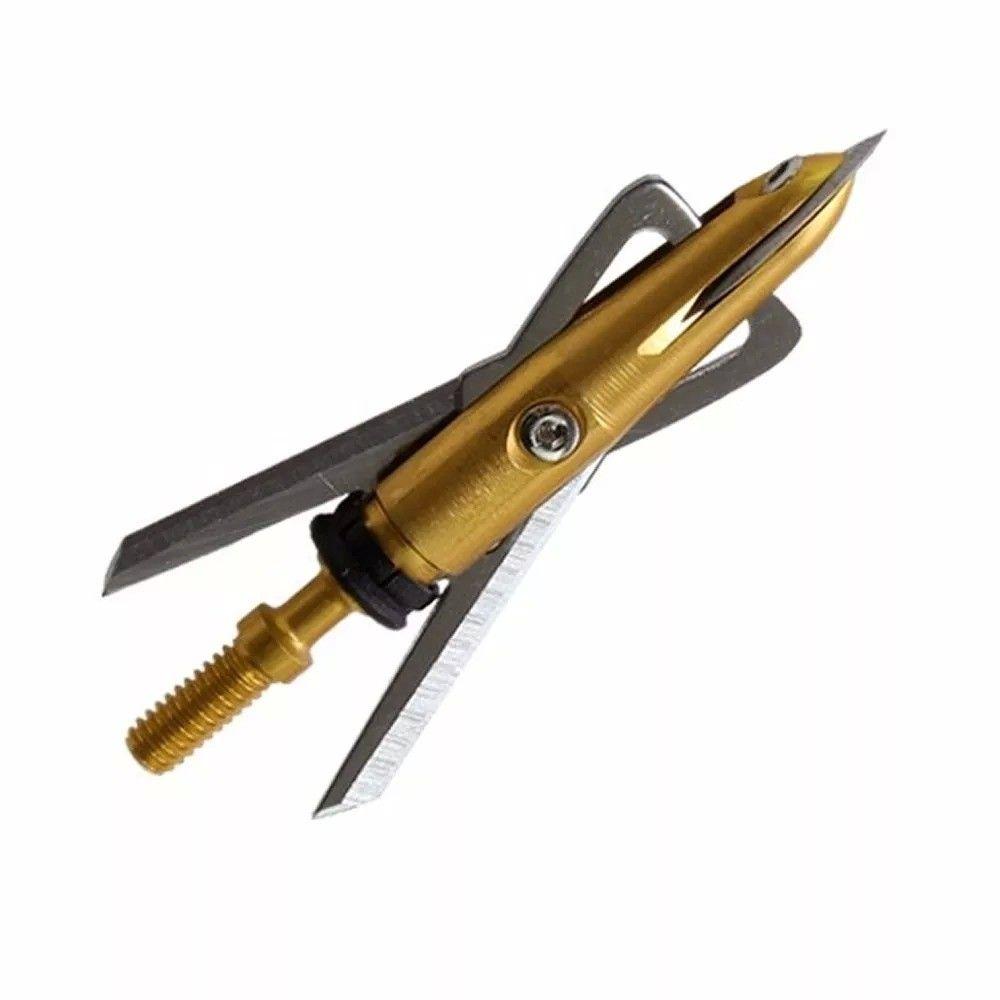 Kit 3 Ponteiras p/ Flecha Xtreme Rosqueavel Metal
