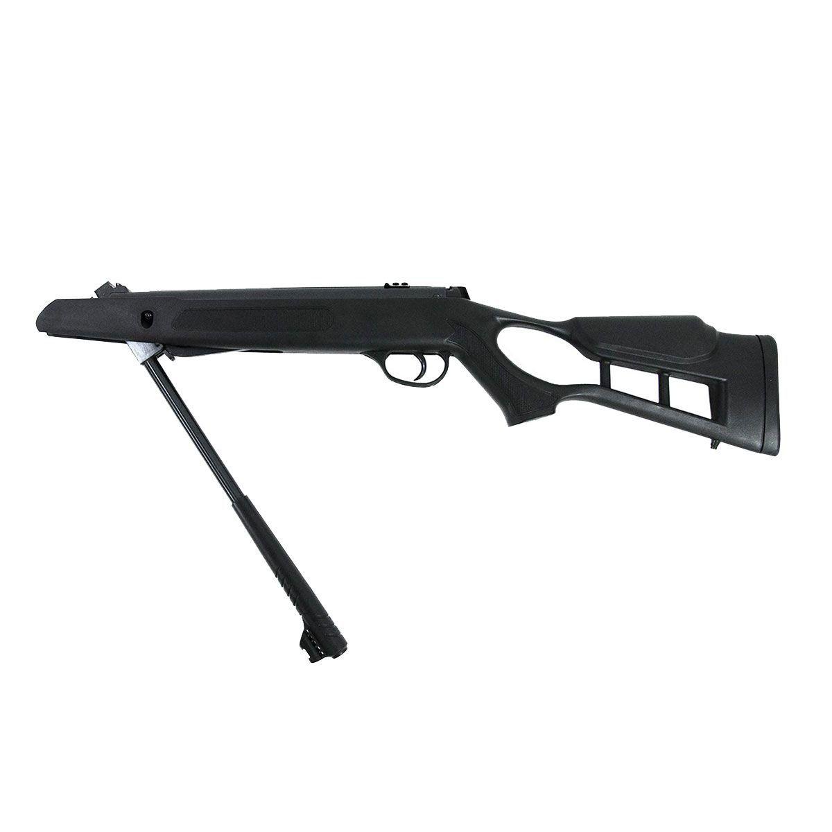 Kit Carabina de Pressão 5,5mm + Pistola C11 4,5mm