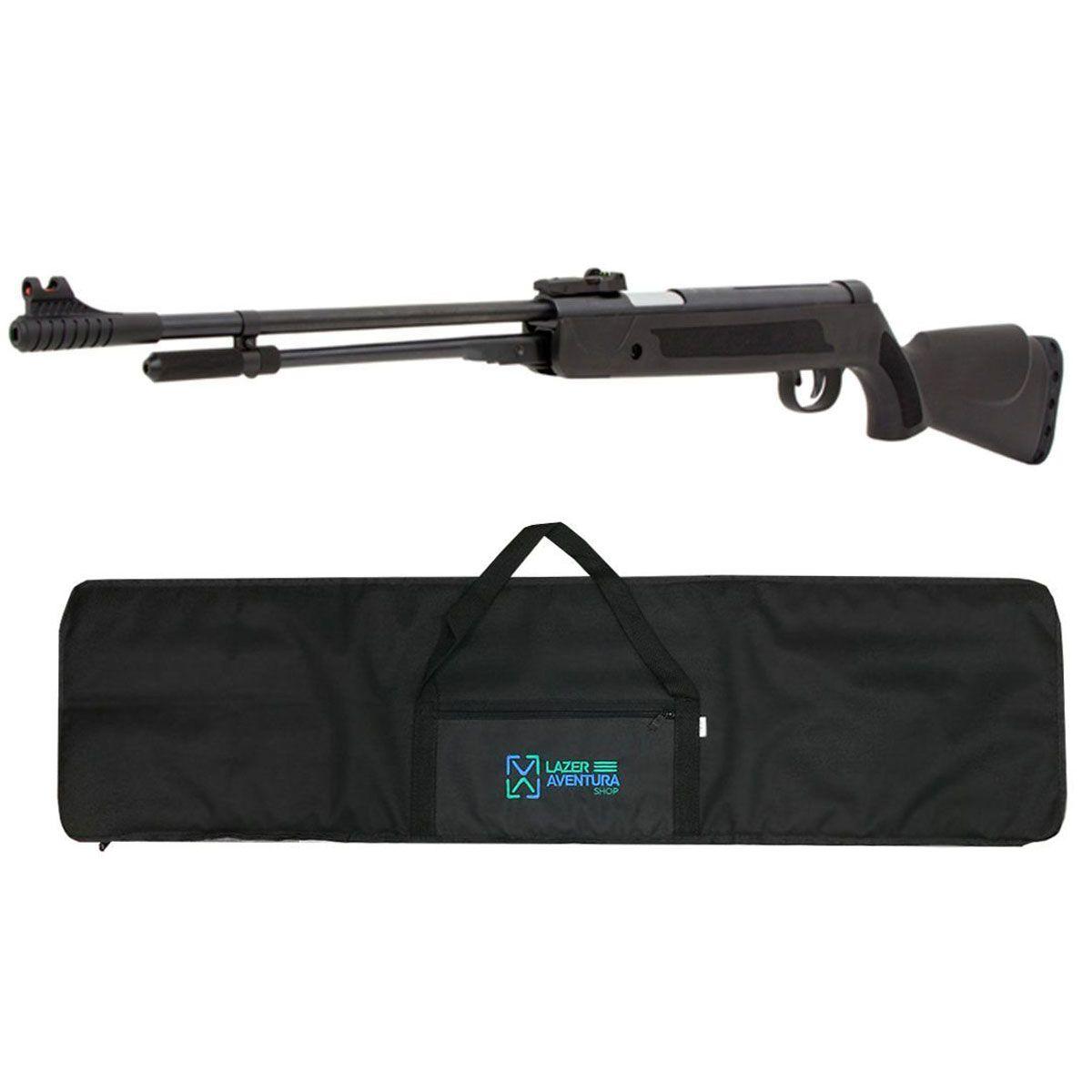 Kit Carabina Fixxar 5,5mm + Capa Lazer e Aventura