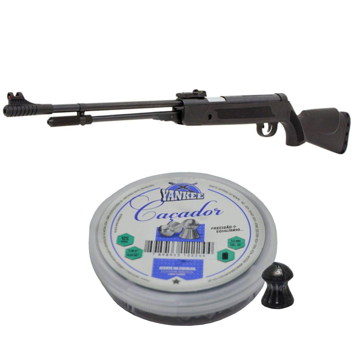 Kit Carabina Fixxar 5,5mm + Chumbinho 5,5mm