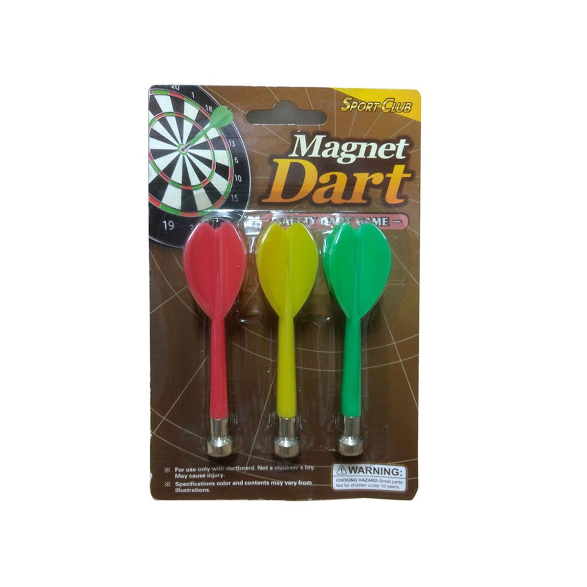 Kit com 3 Dardos Magnetico 9,5mm