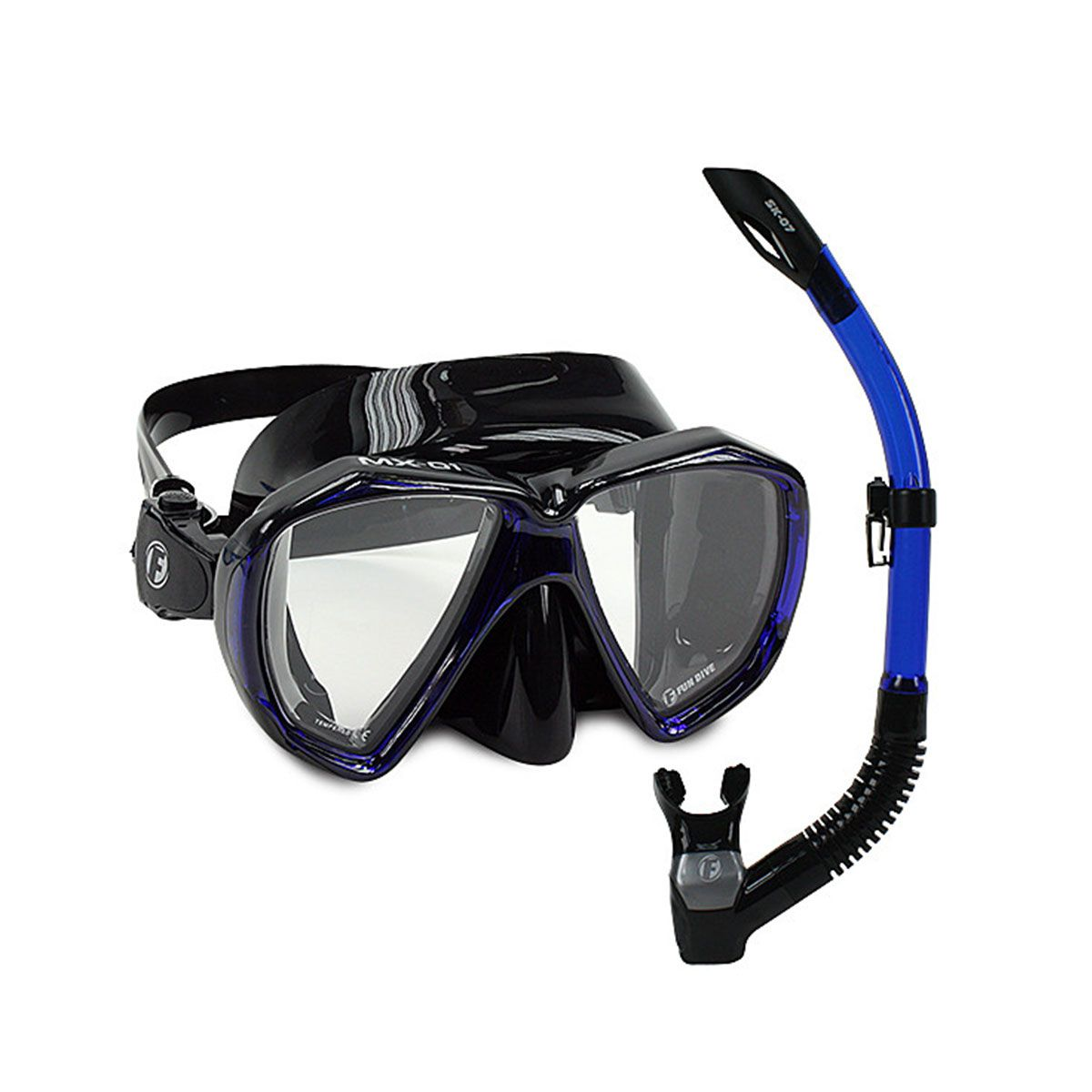 Kit de Mergulho MX-01 Fun Dive Máscara/Snorkel