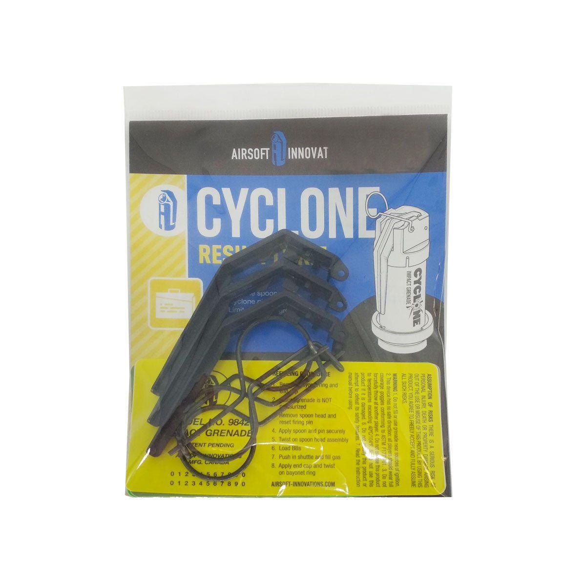 Kit De Suprimentos Para Granada Cyclone