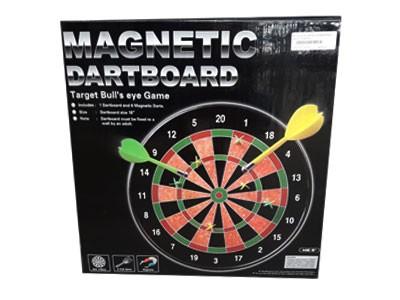 Kit Jogo de Dardos Magnéticos 46CM + 6 Dardos