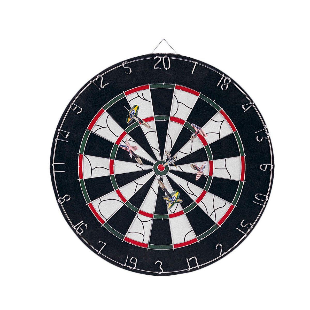 Kit jogo de Dardos Nautika 45 cm + 6 dardos