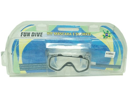 Kit Mascara Sunset + Snorkel-07 + Blister Pro Fun Dive