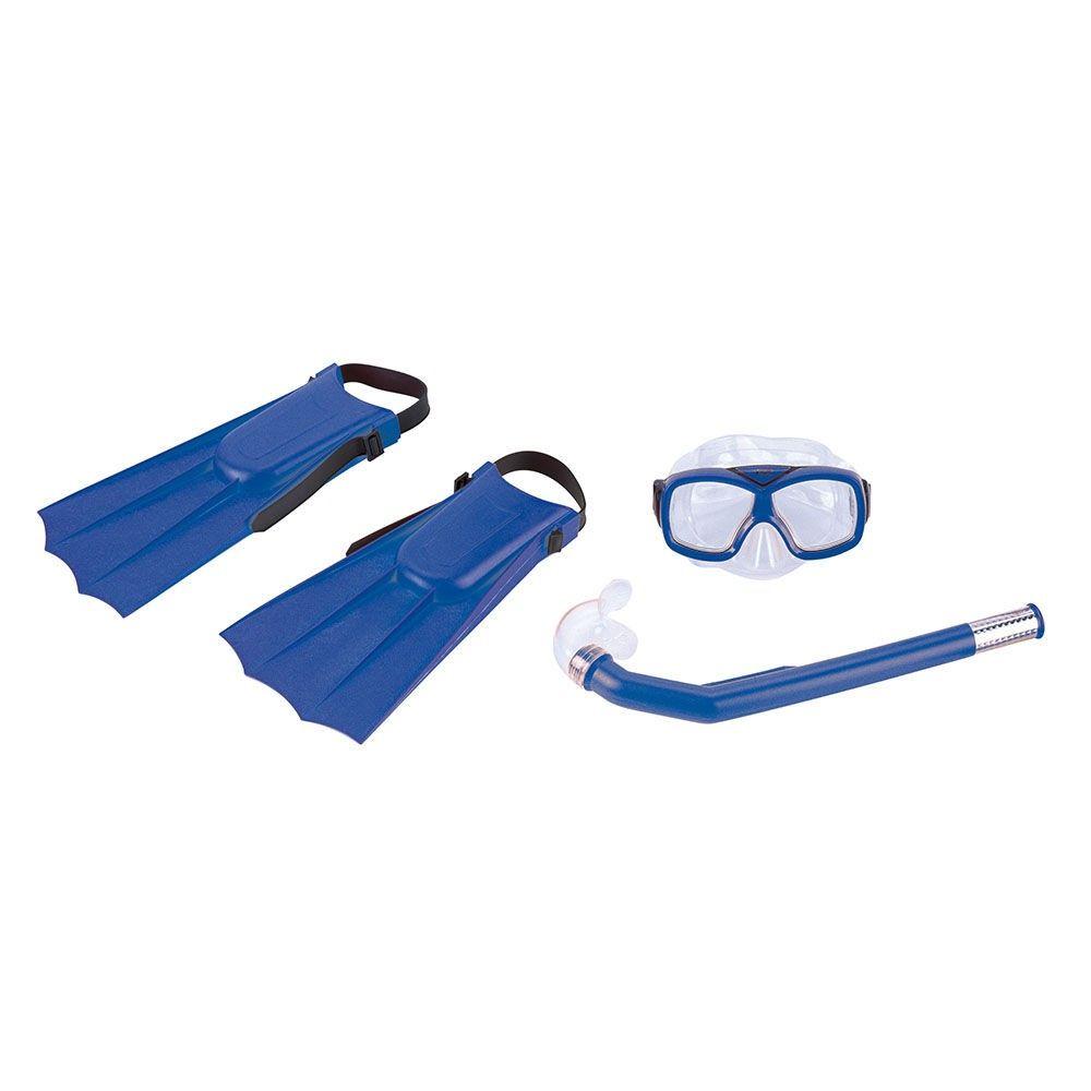 Kit de Mergulho Diver Nautika Máscara/Snorkel/Nadadeira