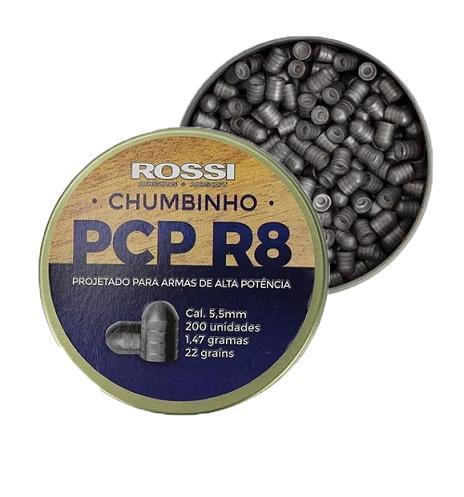 KIT CARABINA PCP R8 5,5MM + ACESSÓRIOS