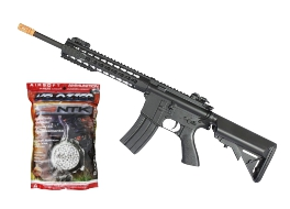 Kit Rifle Airsoft Cyma M4A1 CM515 6mm + BBS 0.20g.