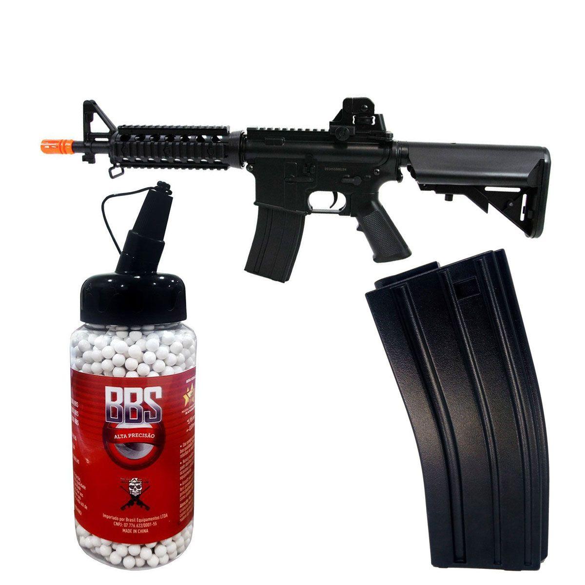Kit Rifle Cyma + BB King 0,20 + Magazine Extra