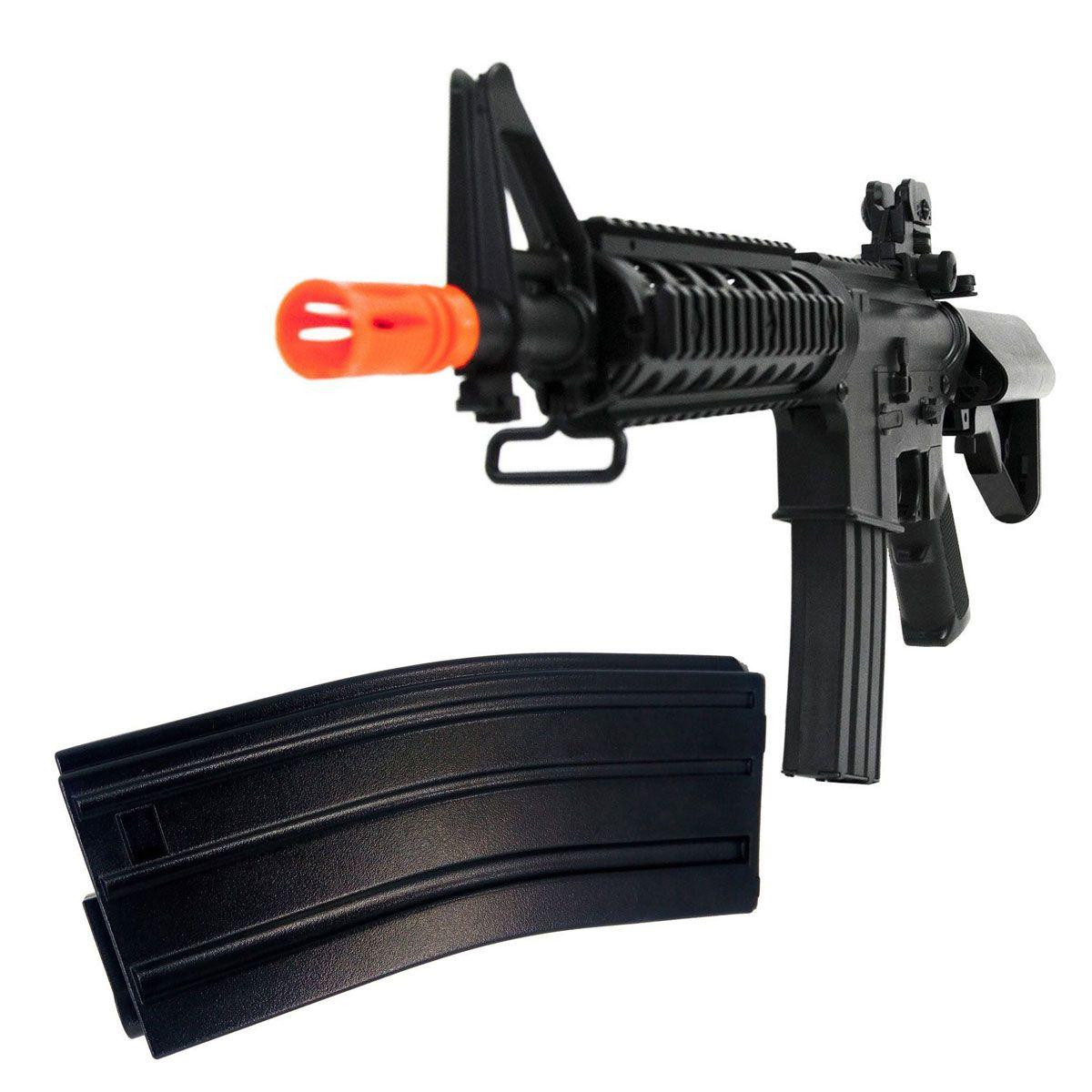 Kit Rifle Cyma + Magazine Extra M4