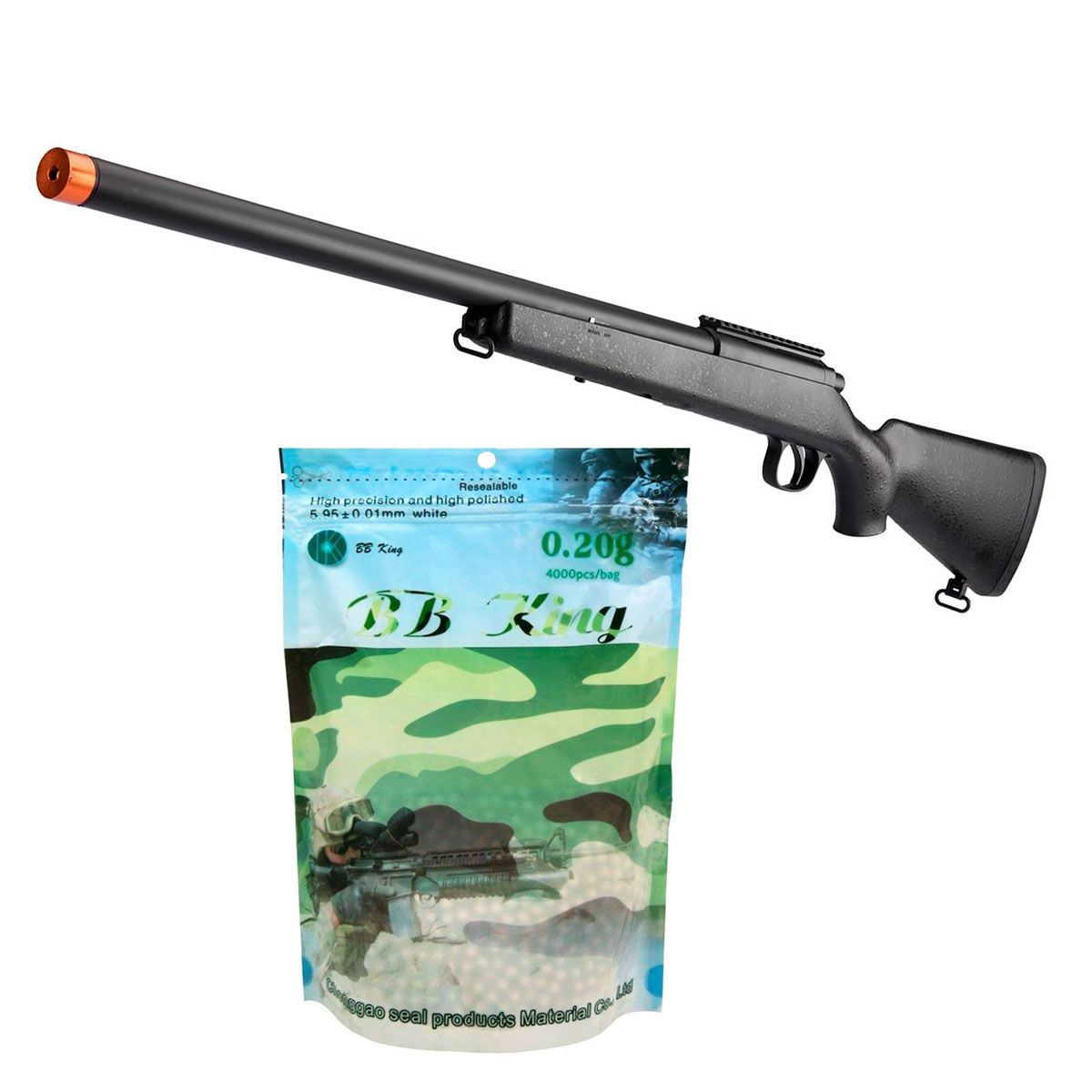 Kit Sniper Evo 6mm + BB King 0,20g