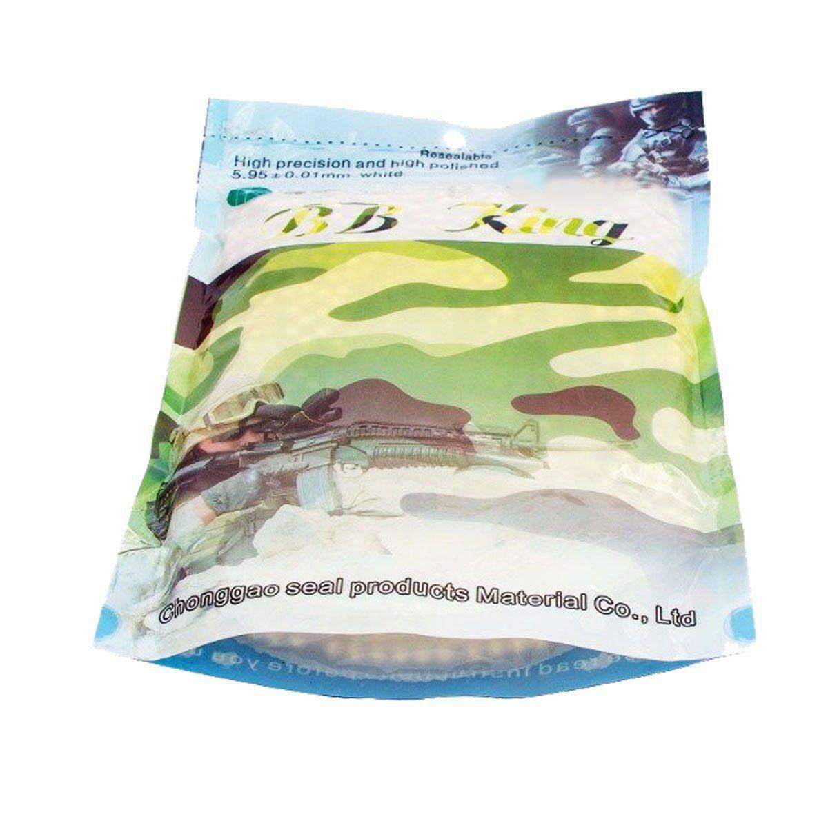 Kit Submetralhadora Mini Uzi + BB King 0,20g