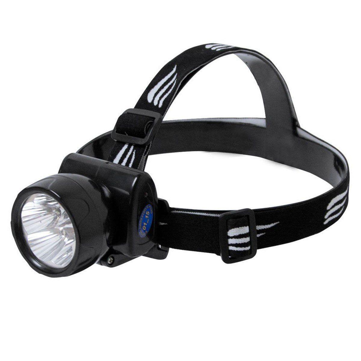 Lanterna de Cabeça Nautika Fenix Recarregável 13 Lumens