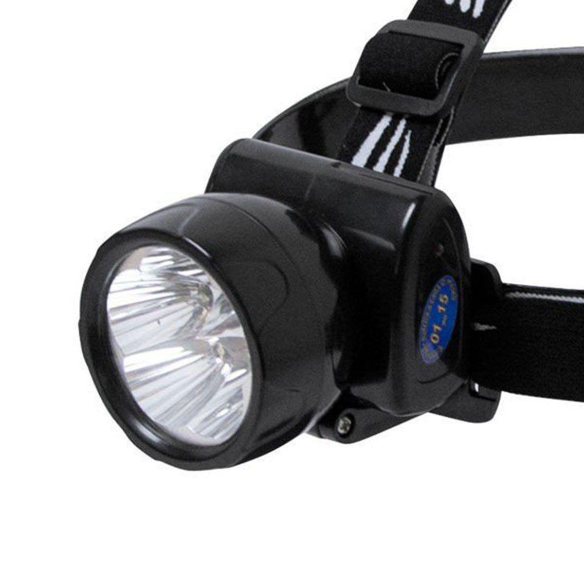 Lanterna de Cabeça Nautika Fênix - Recarregável