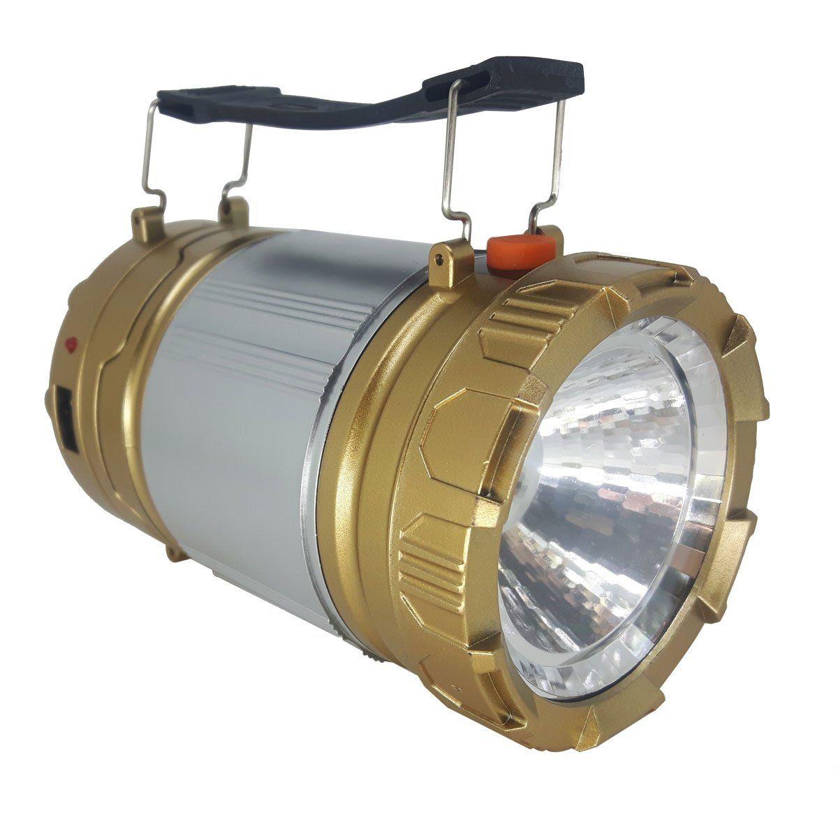 Lanterna Manual Lampião KT611 Dourada