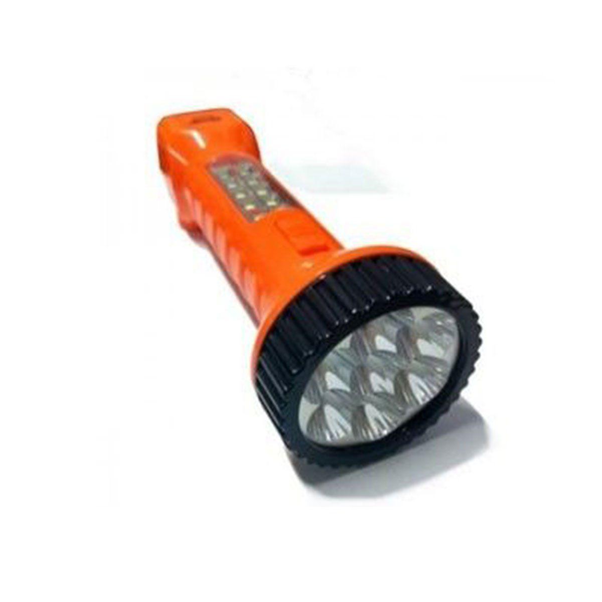 Lanterna Recarregável 8+7 LED ID9015