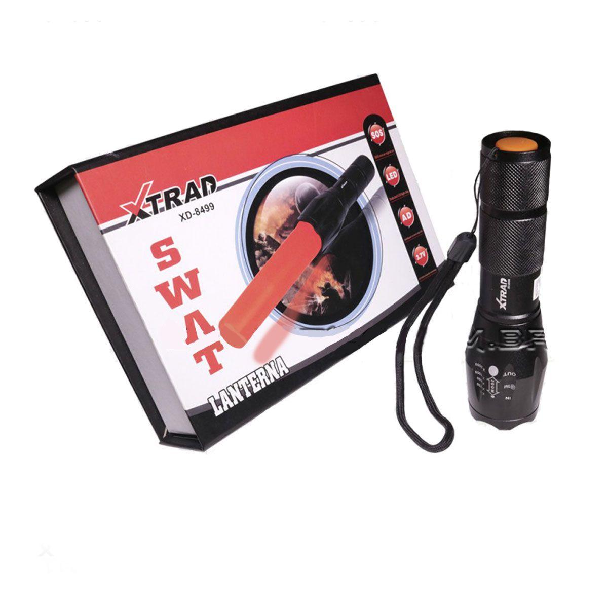 Lanterna Tatica Manual Swat Xtrad
