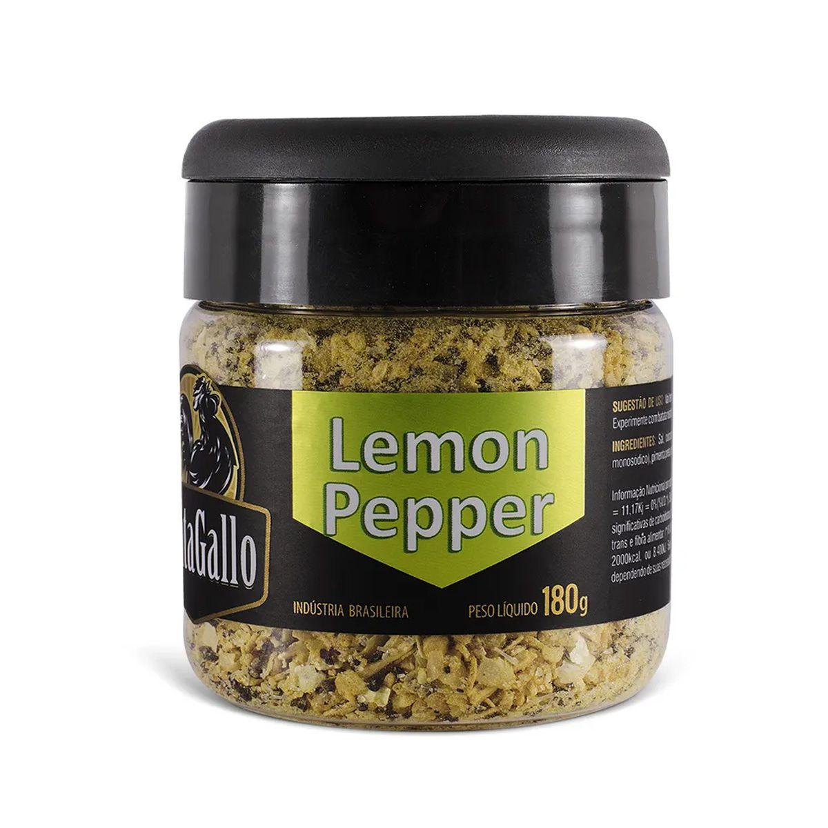 Lemon Pepper Cantagallo - 180g