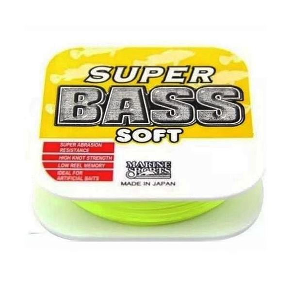 Linha Marine Sports Super Bass Amarela 0,40MM  LIB: 24LB