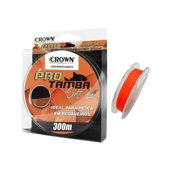 Linha Monofilamento Pro Tamba Soft Line Orange