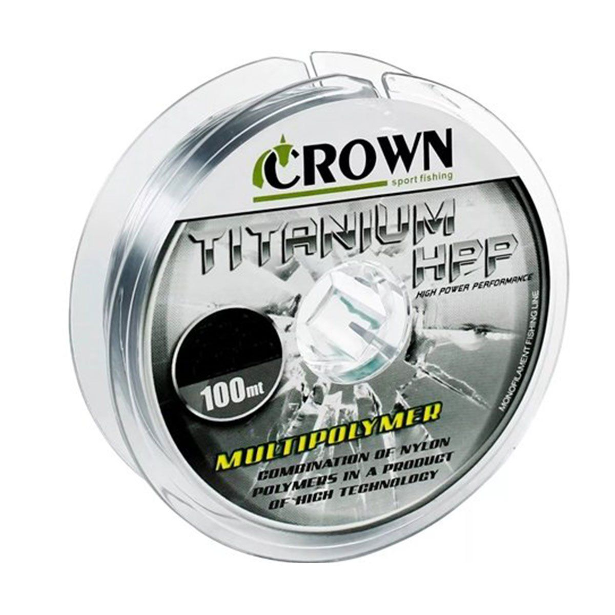Linha Crown Monofilamento Titanium HPP 100m