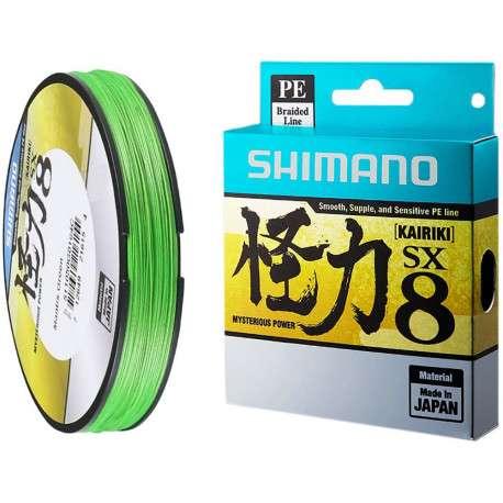 Linha Multi Shimano Kairiki PE 60LB 0.36mm x 150m Verde