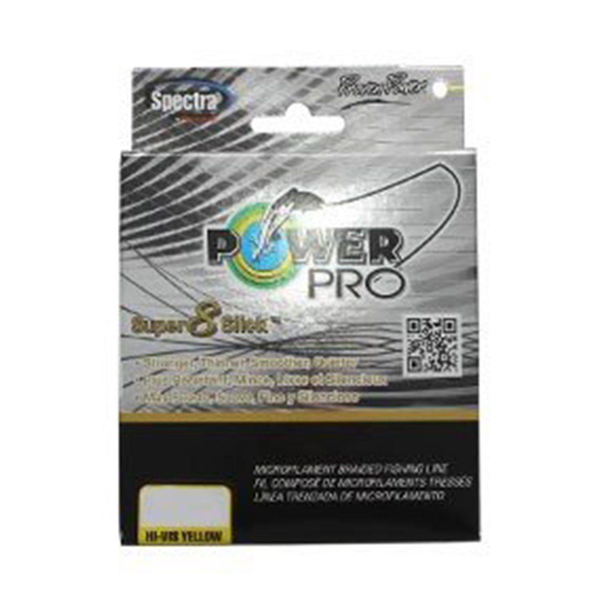 Linha Power Pro Multifilamento Amarelo 8X 150m