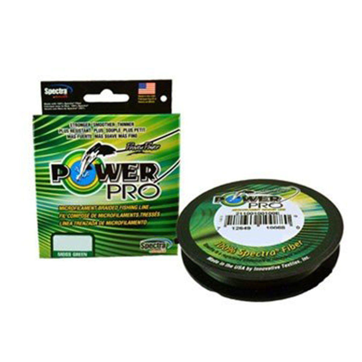 Linha Power Pro Multifilamento Verde 100m
