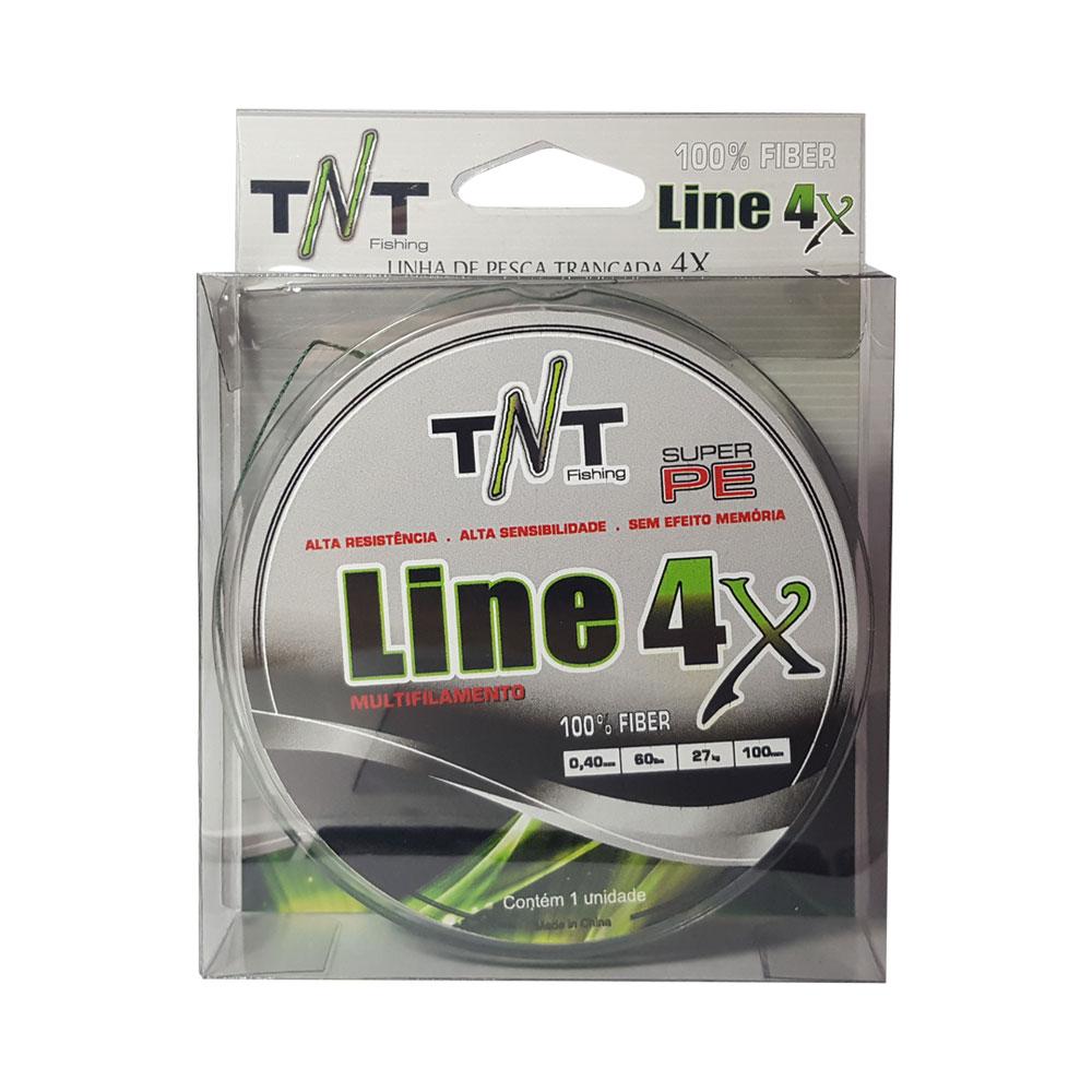 Linha Multifilamento TNT 4X Verde