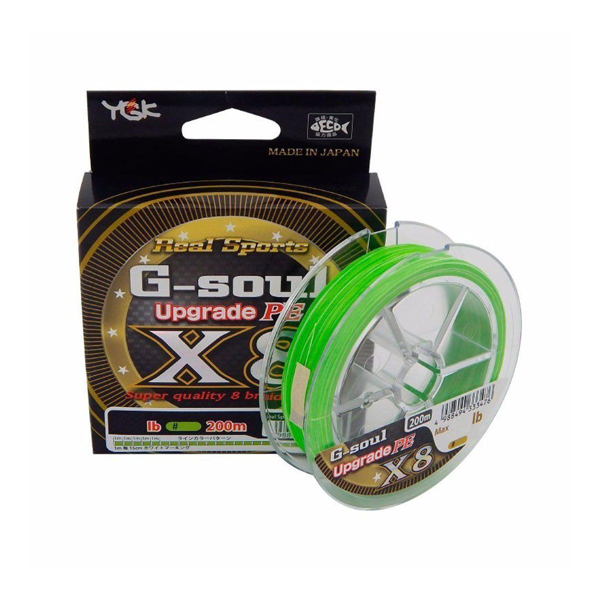 Linha YGK Multifilamento G-Soul 8X 200m