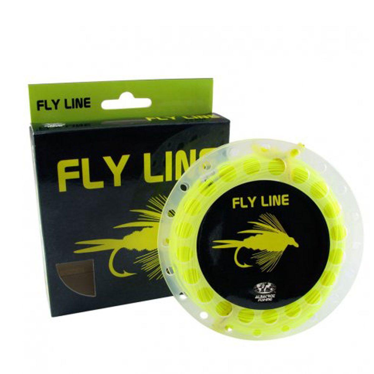 Linha de Pesca Albatroz Fly Line WF6F 30.5m