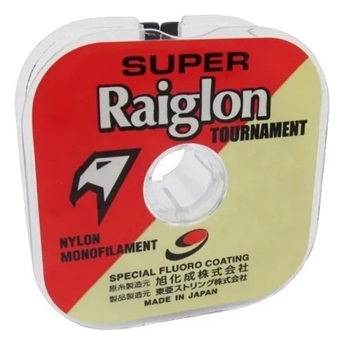 LINHA SUPER RAIGLON TOURNAMENT BRANCO 100 M LIB 43,72 kg