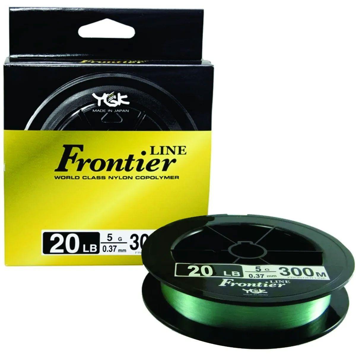 Linha YGK Monofilamento Frontier Line 20LB 0,37mm 300m