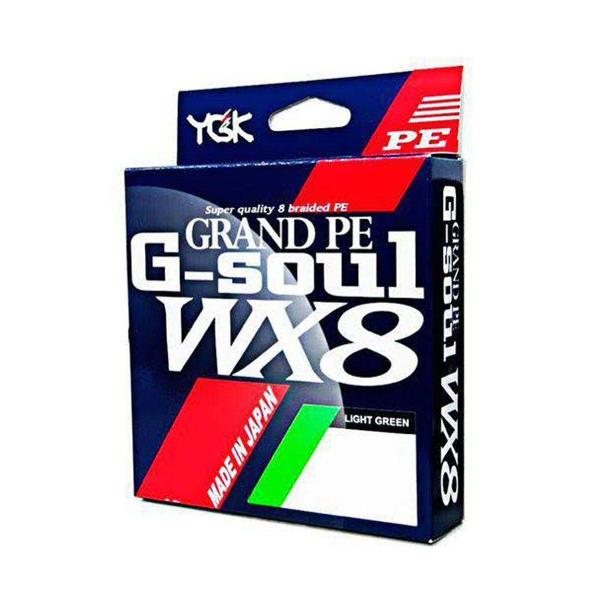 Linha YGK Multifilamento G-Soul 8X 150m