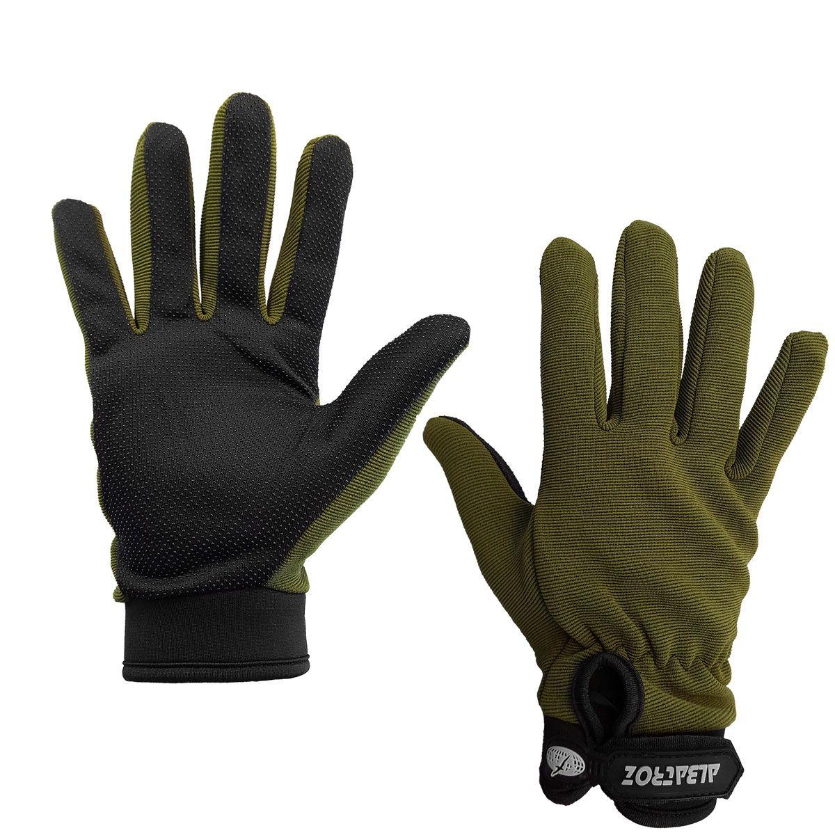 Luva Albatroz YL010 Verde Dedos Inteiros