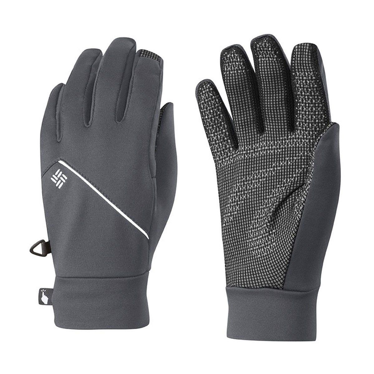 Luva Columbia M Trail Summit Running Glove Graphite