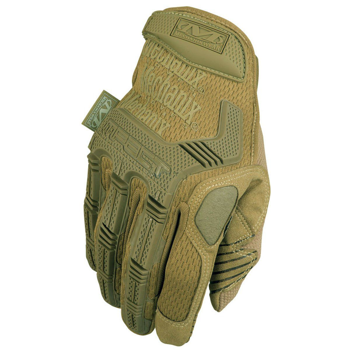 Luva de Airsoft Mechanix Wear M-Pact Coyote