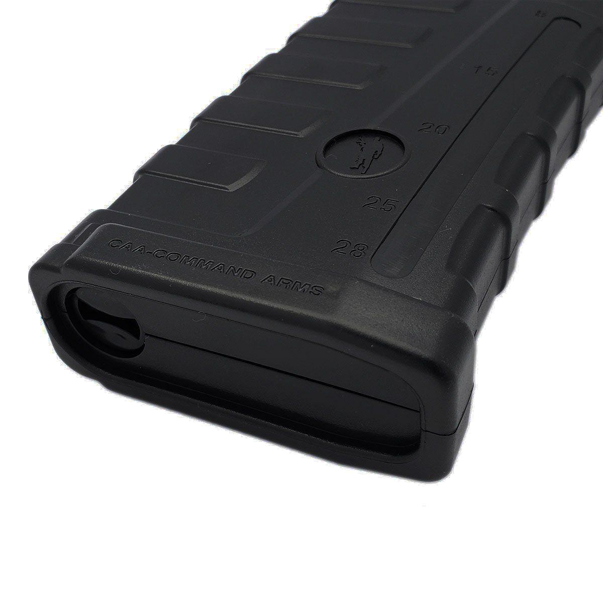Magazine P/ Rifle M4 / M16 Mag17 Mid Cap 140 BBs Preta CAA