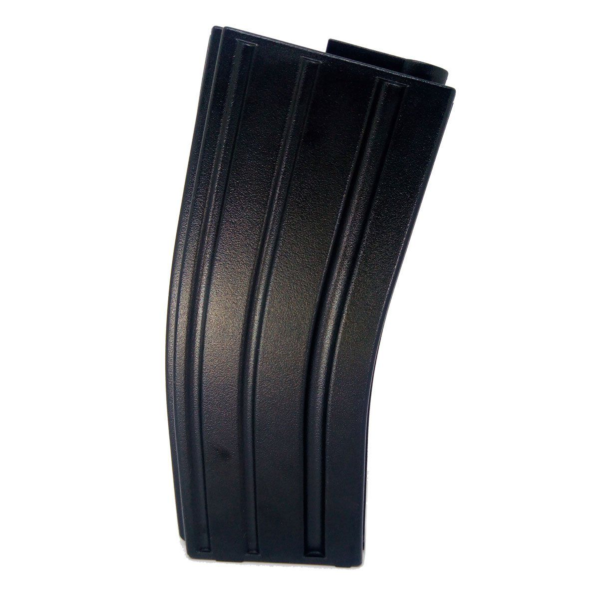 Magazine Para Rifle M4 Mid Cap 120 BBs Preto King Arms