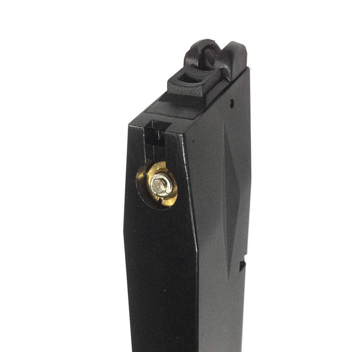 Magazine Para Pistola Baretta M92 25BBs WE Preto