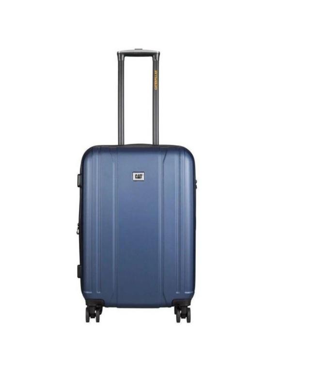 Mala De Viagem Caterpillar Orion 24 Com Rodinhas Alça Retratil E Alça Para Transporte Cor Azul