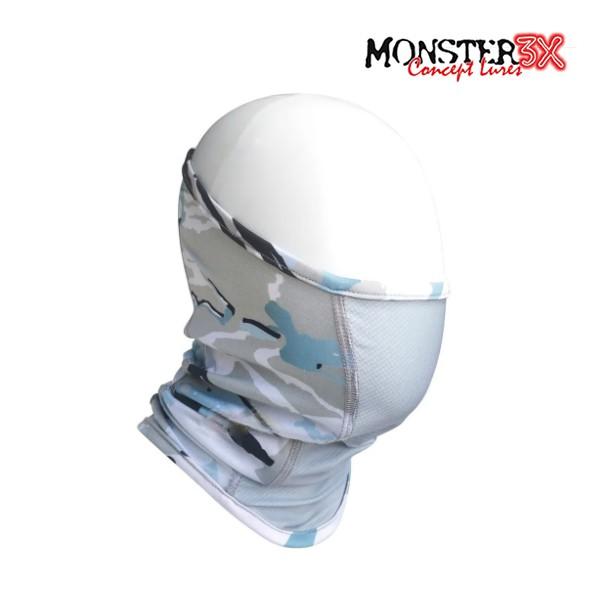 Máscara Anatômica Monster 3x Free Comfort - Blue 02