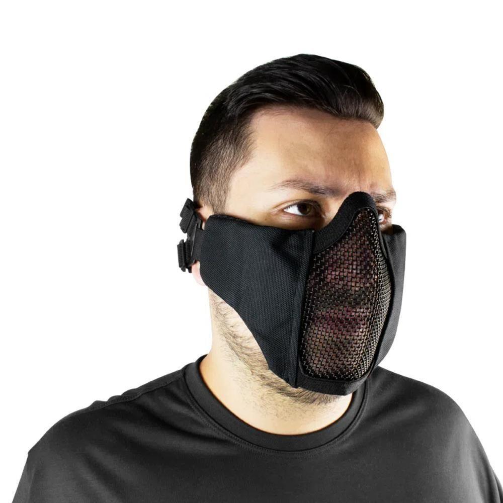 Máscara Jersey Comfort FJA-123 p/ Airsoft - Preta