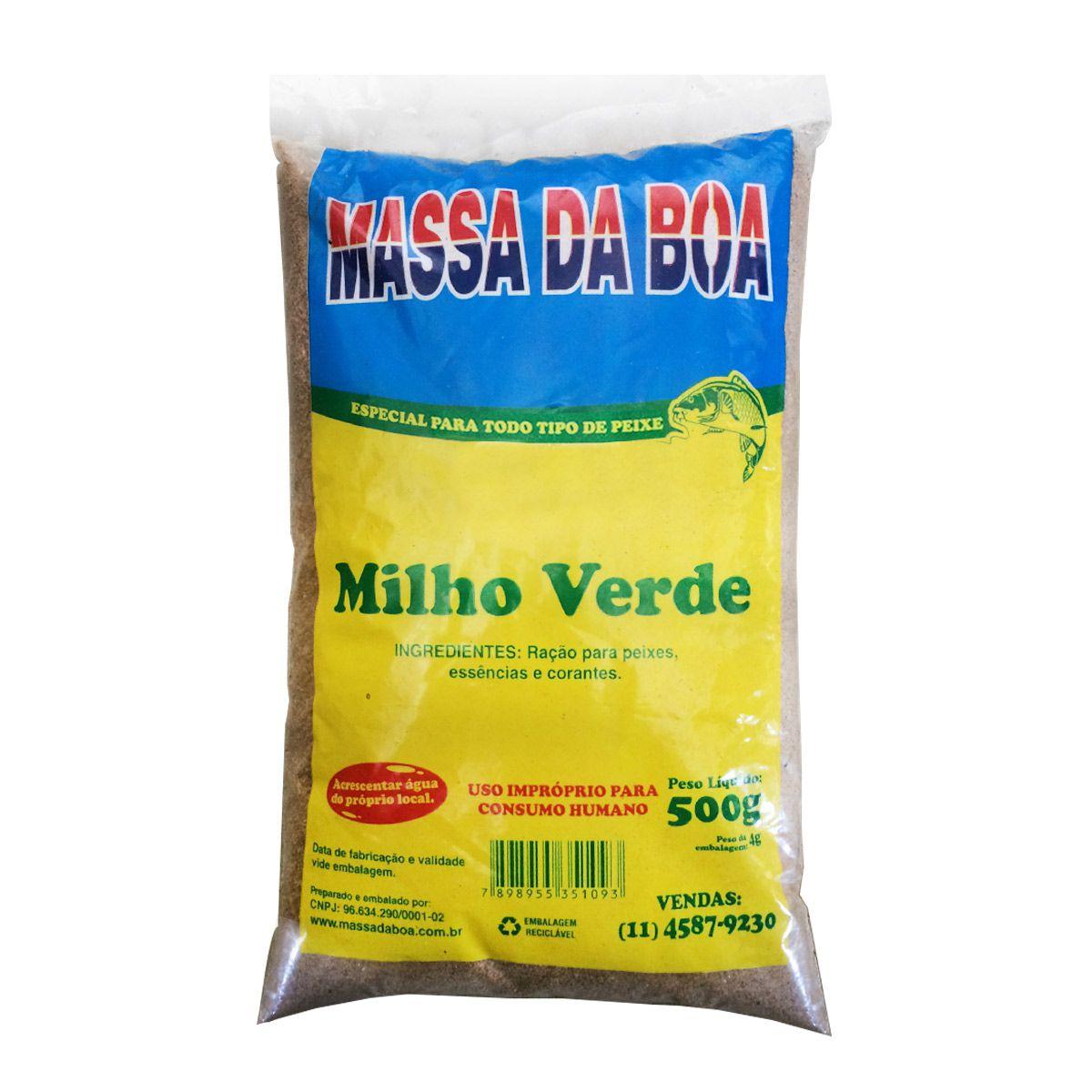 Massa da Boa Milho Verde 500g