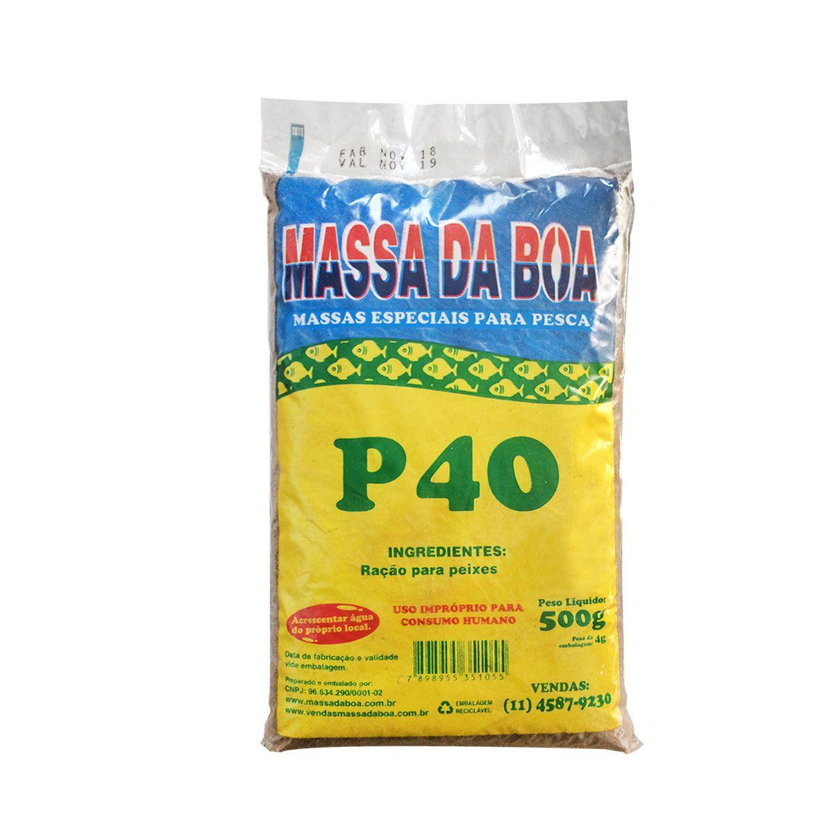 Massa da Boa P40 500g