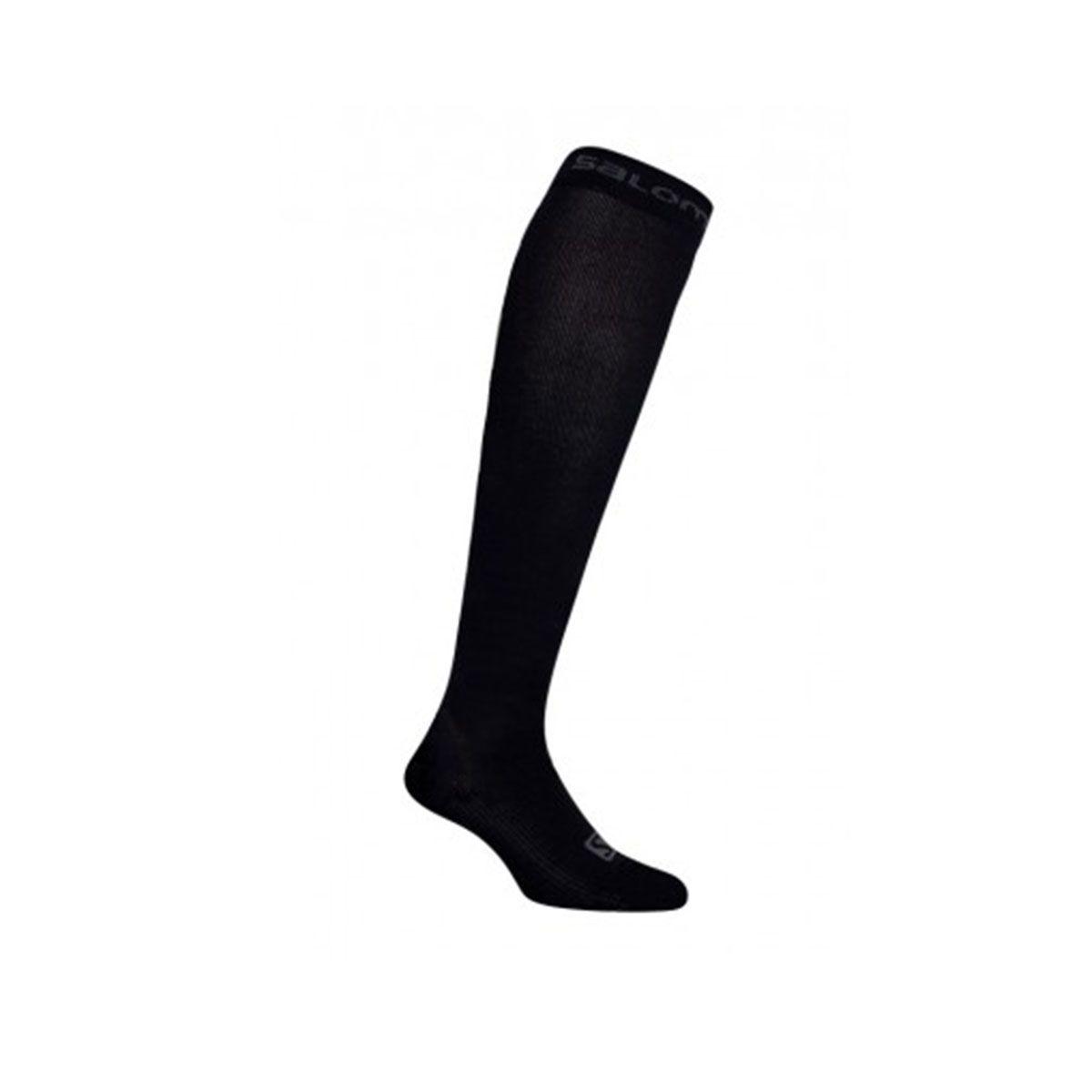 Meia Salomon Sock Compressão Preto