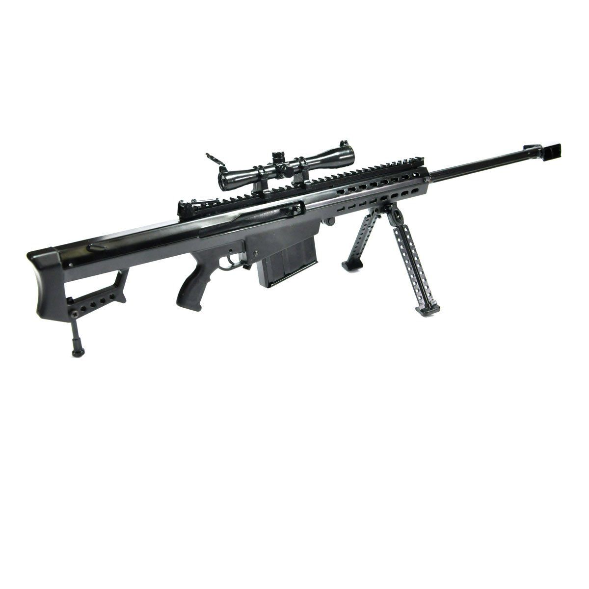 Miniatura de Arma Barrett M82A1L Trilho Longo Arsenal Guns
